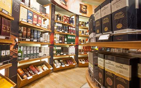World of Whiskies store