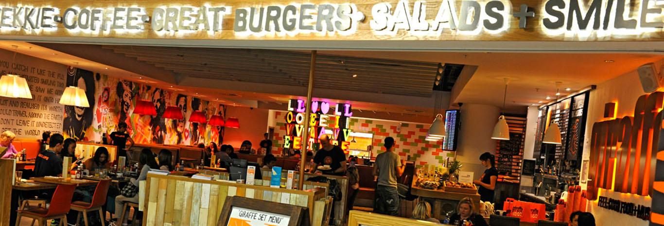 Gatwick Airport North Terminal Restaurants