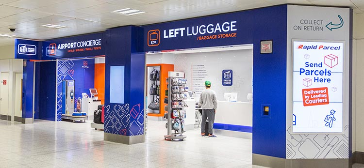 Left luggage at Gatwick
