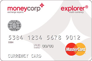 Moneycorp credit card