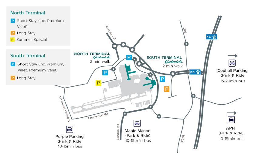 Gatwick Parking | Official Gatwick Airport Parking
