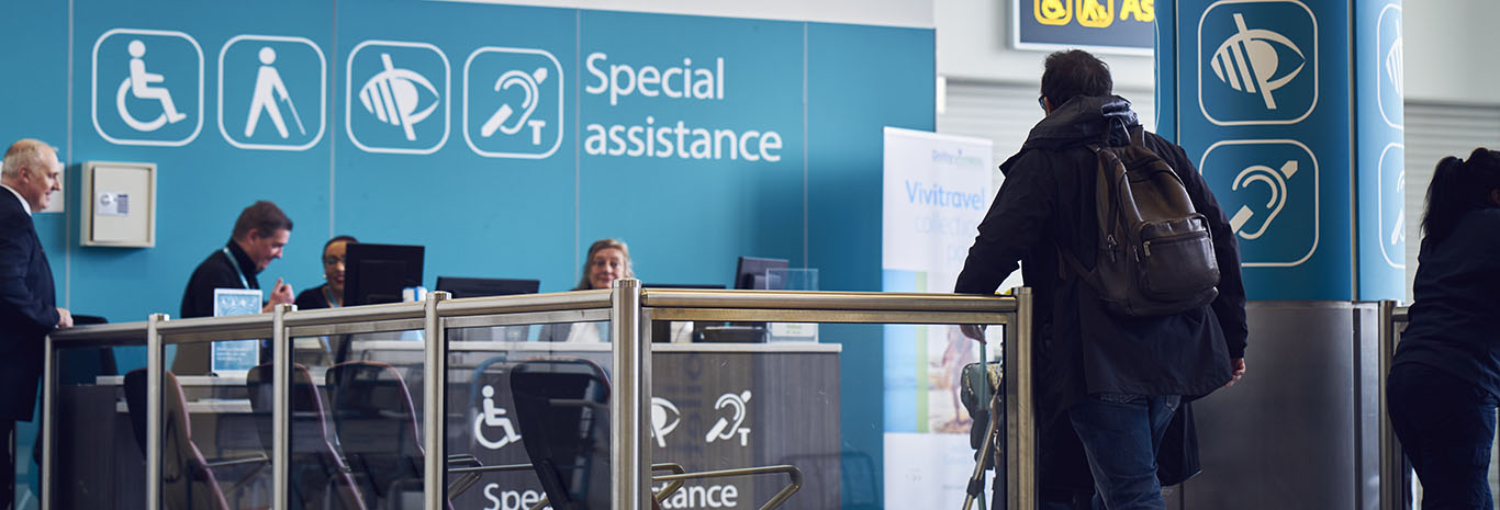 Special assistance | Gatwick Airport